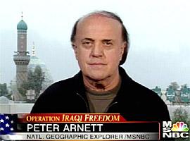 战争内外的彼得·阿内特