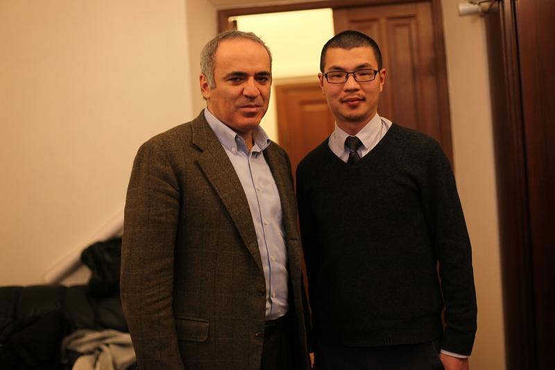 专访卡斯帕罗夫:我从危险的棋王生活成功过渡了