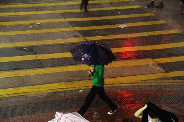 香港的思考时刻